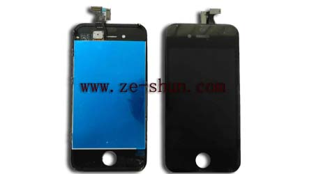 iphone 4G LCD+touchpad complete black